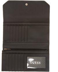 Guess - Black Kamryn Multi Clutch Wallet - Lyst