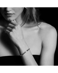 David Yurman - Cable Classics® Bracelet With Blue Topaz And 14k Gold, 5mm - Lyst