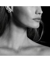 David Yurman - Pink Starburst Earrings With Morganite And Diamonds In 18k Rose Gold, 19mm - Lyst