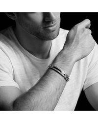 David Yurman - Metallic Maritime Curb Link Id Bracelet With Lapis Lazuli for Men - Lyst
