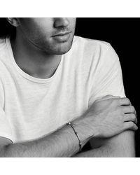 David Yurman - Gray Hex Chain Station Bracelet In Grey for Men - Lyst