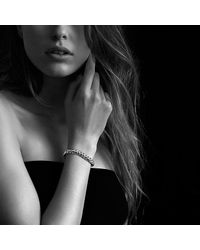 David Yurman - Metallic Hampton Cable Bracelet In 18k Gold. 8.5mm - Lyst