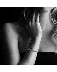 David Yurman - Metallic Starburst Three-station Cable Bracelet With Diamonds - Lyst