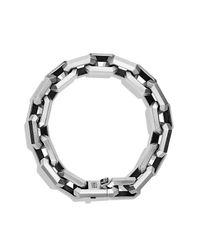David Yurman - Black Heirloom Streamline Link Bracelet for Men - Lyst