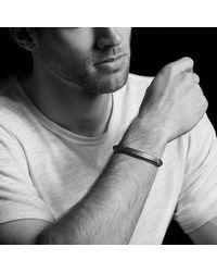 David Yurman - Metallic Fused Meteorite Id Bracelet for Men - Lyst