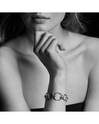 David Yurman - Metallic Crossover Convertible Statement Necklace With Diamonds - Lyst