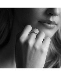 David Yurman - Pink Wisteria Twist Ring With Diamonds In Rose Gold - Lyst