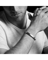 David Yurman - Metallic Armory Single Row Id Bracelet for Men - Lyst