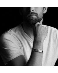 David Yurman - Black Frontier Cuff Bracelet With Nevada Silk Stone for Men - Lyst