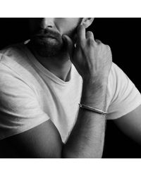 David Yurman - Metallic Exotic Stone Id Bracelet With Black Onyx for Men - Lyst