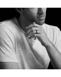 David Yurman - Dy Delaunay Narrow Band Ring In Gray Titanium, 4mm for Men - Lyst