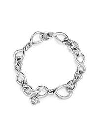 David Yurman - Metallic Continuance Medium Chain Bracelet - Lyst