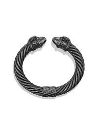 David Yurman - Black Renaissance Bracelet, 10mm - Lyst