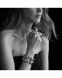 David Yurman - Multicolor Waverly Bracelet With Smoky Quartz And Cognac Diamonds - Lyst
