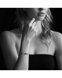 David Yurman - Metallic Cable Classics Bracelet With Diamonds And 14k Gold, 5mm - Lyst