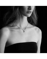 David Yurman - Metallic Petite Albion® Pendant Necklace With Prasiolite And Diamonds - Lyst