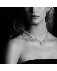 David Yurman - Metallic Petite Albion® Pendant Necklace With Diamonds - Lyst