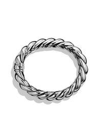 David Yurman - Metallic Hampton Cable Narrow Bracelet - Lyst