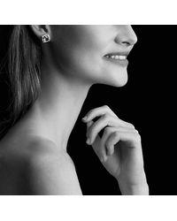 David Yurman - Chatelaine® Pavé Bezel Earring With Hampton Blue Topaz And Diamonds, 9mm - Lyst