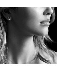 David Yurman - Blue Châtelaine® Earrings With Hematine - Lyst