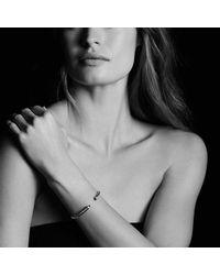 David Yurman - Metallic Cable Classics Bracelet With Prasiolite & Diamonds - Lyst