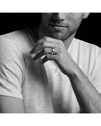David Yurman - Streamline Wide Band Ring With Black Titanium, 9mm for Men - Lyst