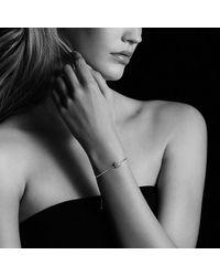 David Yurman - Metallic Petite Pave Bracelet With Pink Saphhire - Lyst