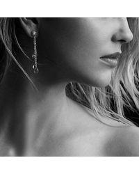 David Yurman - Metallic Bijoux Drop Earrings With Peridot, Citrine And Rhodalite Garnet In 18k Gold - Lyst