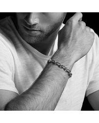 David Yurman - Oval Link Bracelet With Black Onyx, 9mm for Men - Lyst