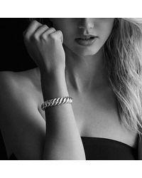 David Yurman | Metallic Hampton Cable Bracelet, 14mm | Lyst