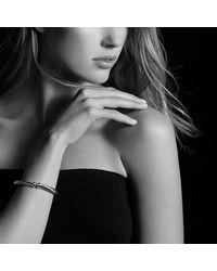 David Yurman | Metallic Cable Spira Bracelet With 18k Gold, 7mm | Lyst