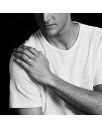 David Yurman - Metallic Petrvs Lion Signet Pinky Ring With 18k Gold for Men - Lyst