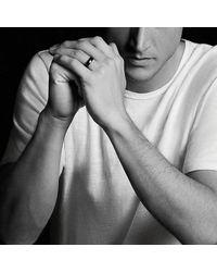 David Yurman - Dy Eden Band Ring In Black Titanium, 6mm for Men - Lyst
