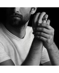 David Yurman - Gray Heirloom Streamline Signet Ring With Jade for Men - Lyst