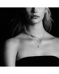 David Yurman - Metallic Venetian Quatrefoil Necklace With Tanzanite And Diamonds In 18k Gold - Lyst