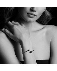 David Yurman - Metallic Chatelaine® Bypass Bracelet With Lemon Citrine And Diamonds - Lyst