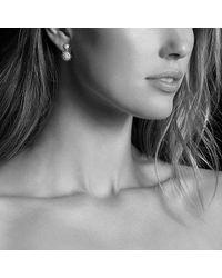 David Yurman | Metallic Starburst Double-drop Earrings With Diamonds In 18k Gold | Lyst