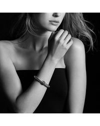 David Yurman - Green Osetra Bracelet With Gemstones - Lyst