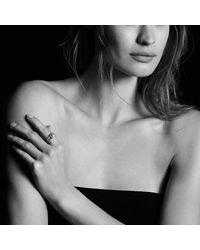 David Yurman - Metallic Petite Albion® Ring With Diamonds - Lyst