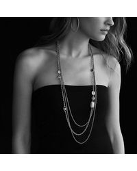 David Yurman - Yellow Chatelaine Chain Necklace With Prasiolite And Green Orchid In 18k Gold - Lyst