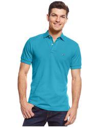 Tommy Hilfiger Blue Custom-fit Ivy Polo for men