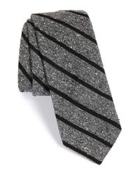 Todd Snyder | Gray Woven Silk & Wool Tie for Men | Lyst