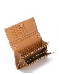 Jimmy Choo - Brown Sandalwood Leather 'Nikita' Convertible Continental Wallet - Lyst