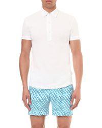 Orlebar Brown | White Sebastian Cotton-piqué Polo Shirt - For Men for Men | Lyst
