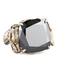 John Hardy - Metallic Naga Batu Ring Hematite - Lyst