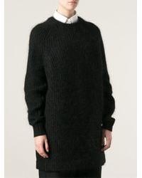 Acne Studios Black Davina Sweater