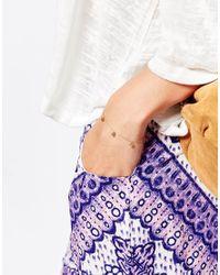 Stella & Bow | Metallic Cebu Bracelet | Lyst