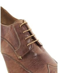 PS by Paul Smith - Brown Wallace Wingcap Shoes for Men - Lyst