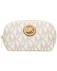 Michael Kors | Natural Michael Fulton Large Travel Pouch | Lyst
