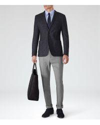 Reiss | Blue Lamb Button-Down Shirt for Men | Lyst